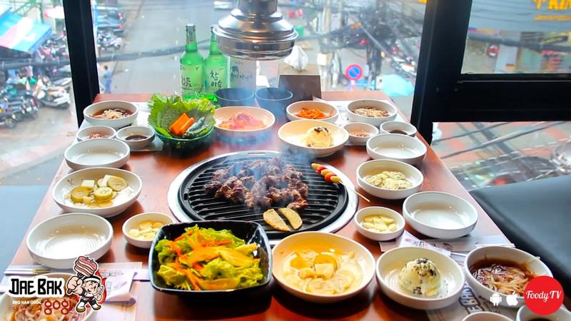 Nhà hàng nướng Hàn Quốc chất lừ giữa Sài Gòn